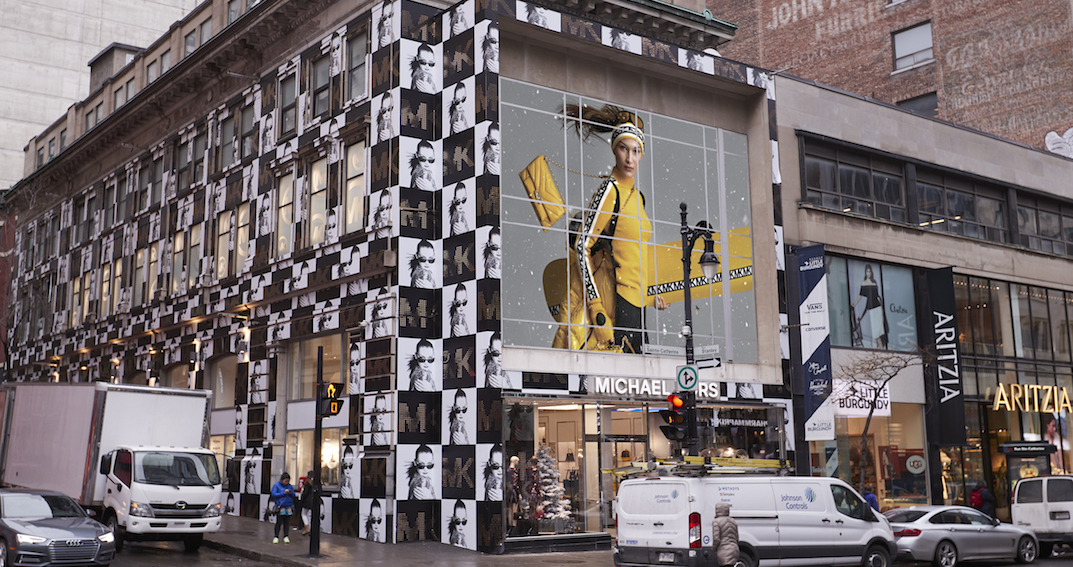 Michael Kors just opened a 3-storey flagship store in downtown Montreal (PHOTOS)