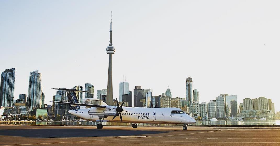 Porter Airlines extends flight suspension until end of March