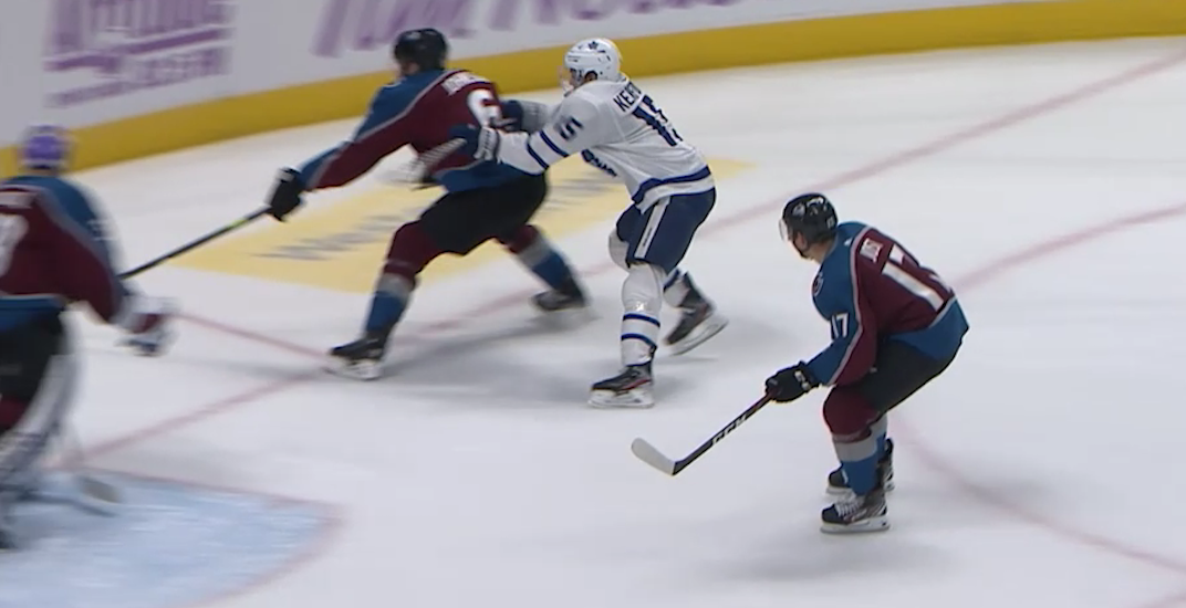 NHL suspends Maple Leafs' Kerfoot for dangerous play