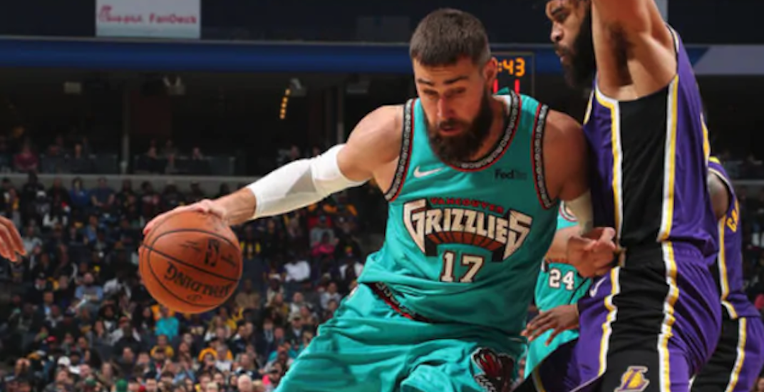 Fans react to Vancouver Grizzlies jerseys' return to the NBA