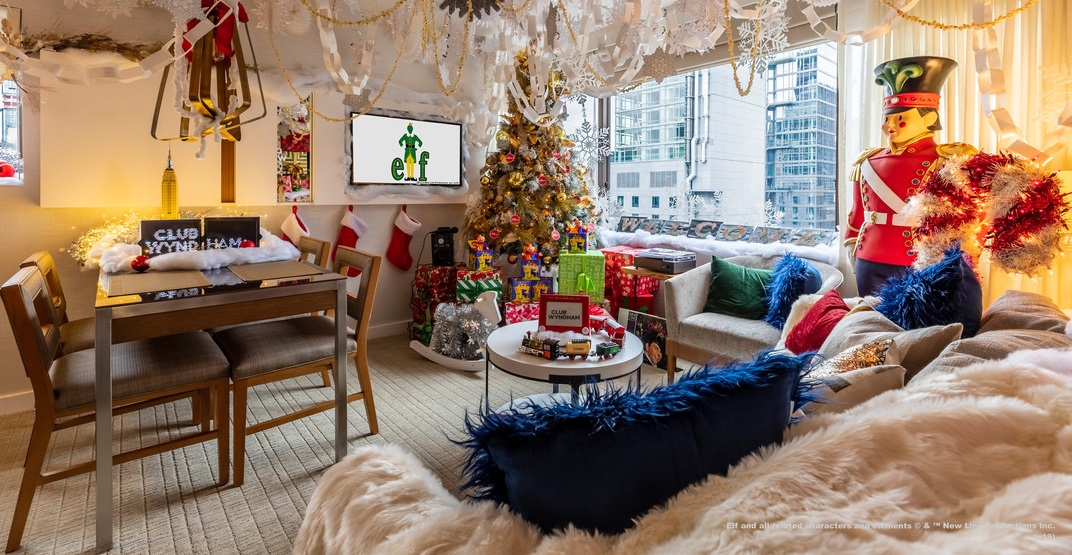 This timeshare lets you channel your inner Buddy the Elf this holiday season