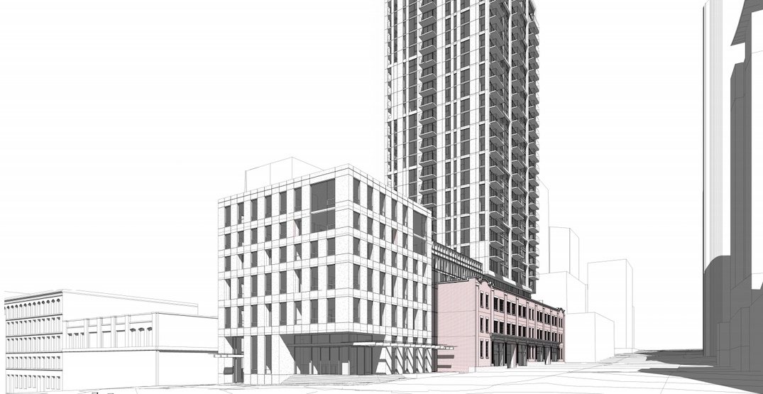 Design changes for new Robson Street hotel and condo tower near BC Place