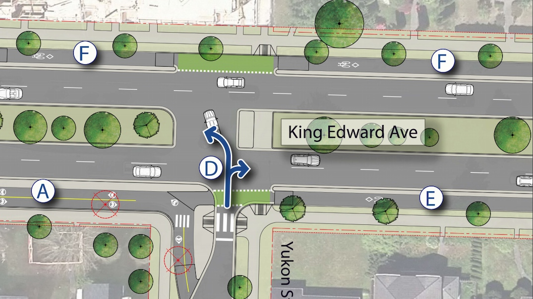 Construction begins on King Edward Avenue redesign in the Cambie Street area