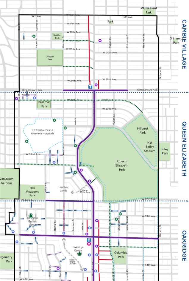 Cambie Corridor Public Realm Plan. (City of Vancouver)