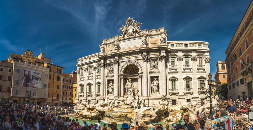 Rome may enforce new sanctions to protect the Trevi Fountain from tourists