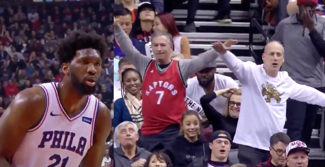 Joel Embiid has been cursed against Raptors since his airplane celebration