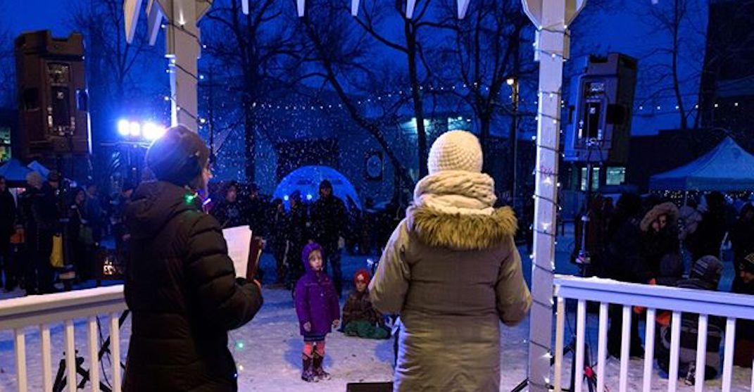 Old Strathcona will be transformed into a winter wonderland this week