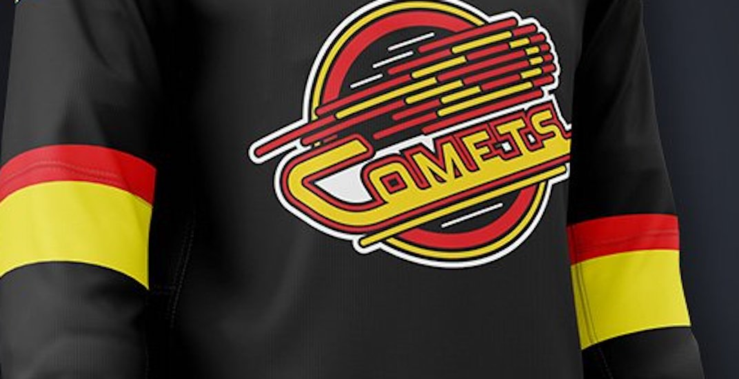 Utica Comets to wear Canucks Flying Skate inspired jerseys