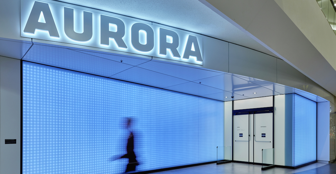 Aurora just opened a cannabis store in North America's largest mall (PHOTOS)