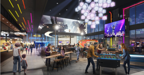 "Cineplex opening first of its kind ""cinema of the future"