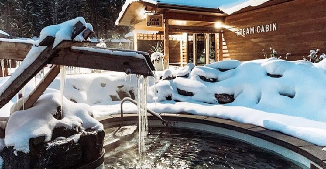This Rocky Mountain day spa looks stunning in the snow (PHOTOS)