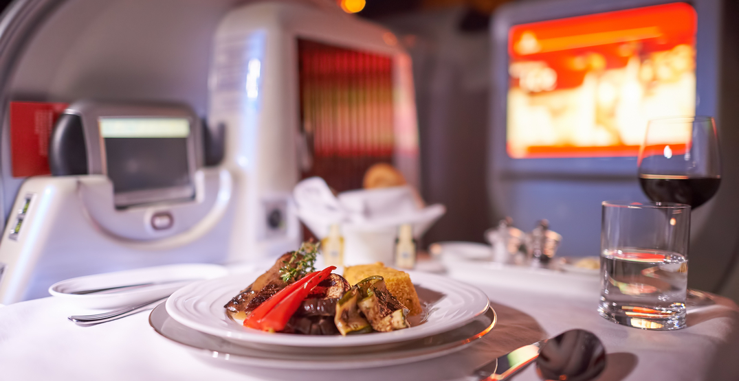 These airlines have the healthiest in-flight meal options