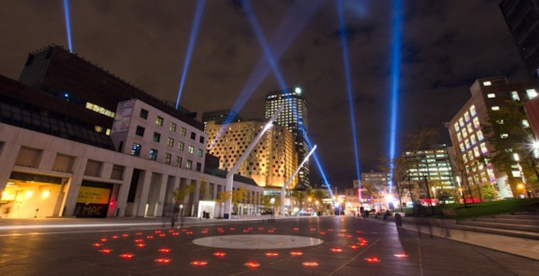 This FREE lit-up winter playground starts at Place des Festivals tomorrow