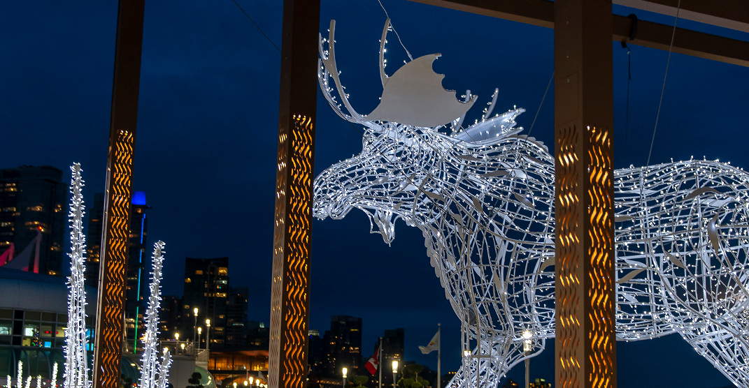 "This annual Vancouver Christmas tradition features a 15-foot ""Chrismoose"""