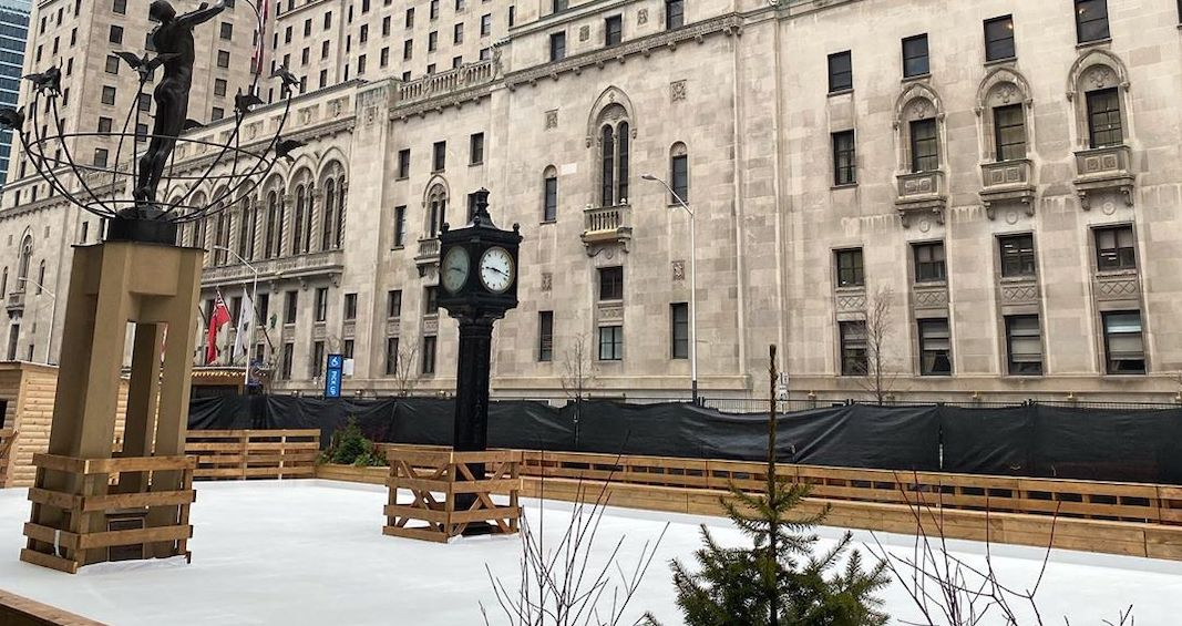 Toronto's newest outdoor skating rink opens tomorrow