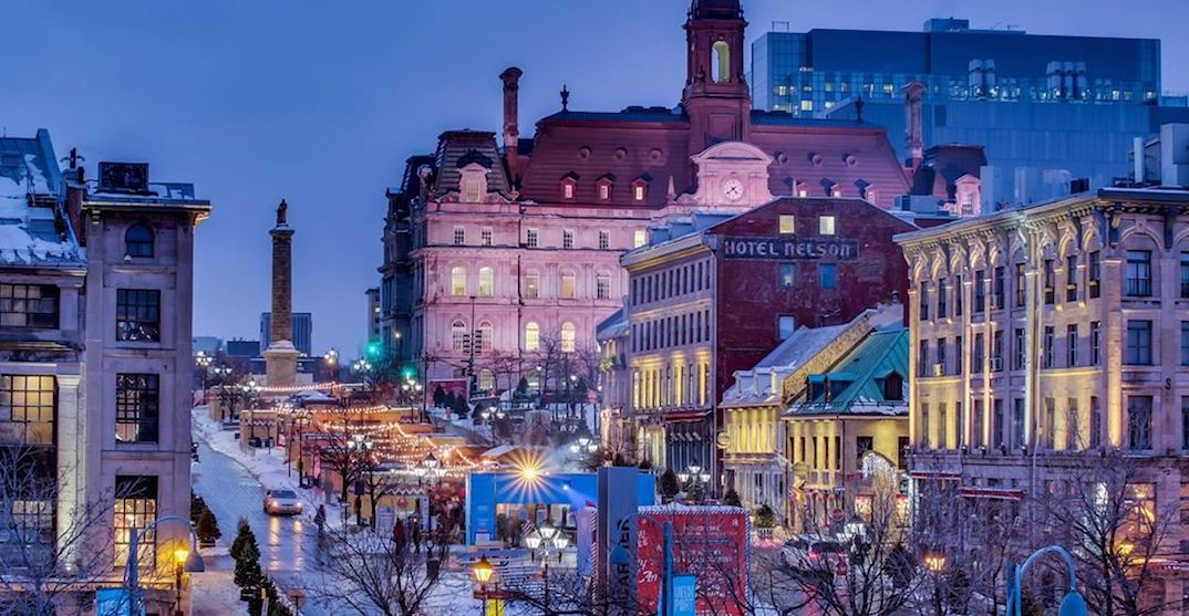 Old Montreal is hosting FREE magical holiday events next month