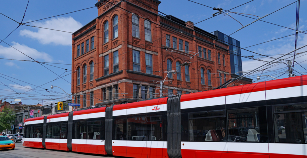 TTC says there will be no streetcars on Queen Street until next week