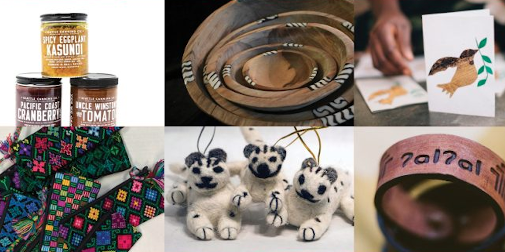 Find unique, ethically sourced gifts at this Seattle holiday market