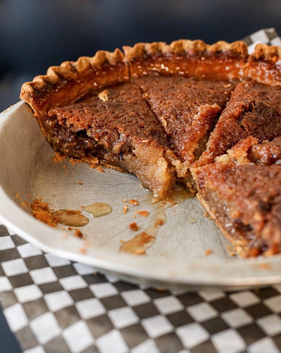 Vegan pecan pie from The Pie Hole