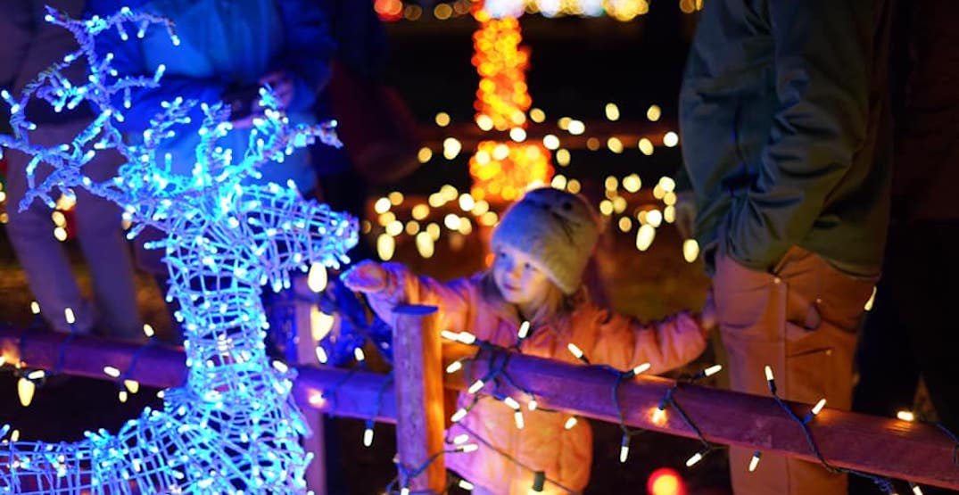There's a magical Christmas garden event outside of Portland starting today