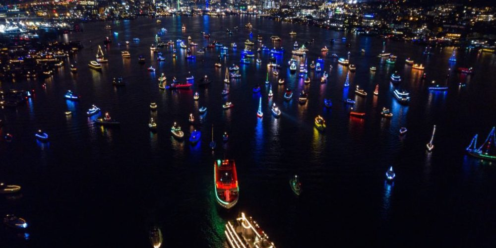A Christmas Ship Festival is sailing through Seattle next month
