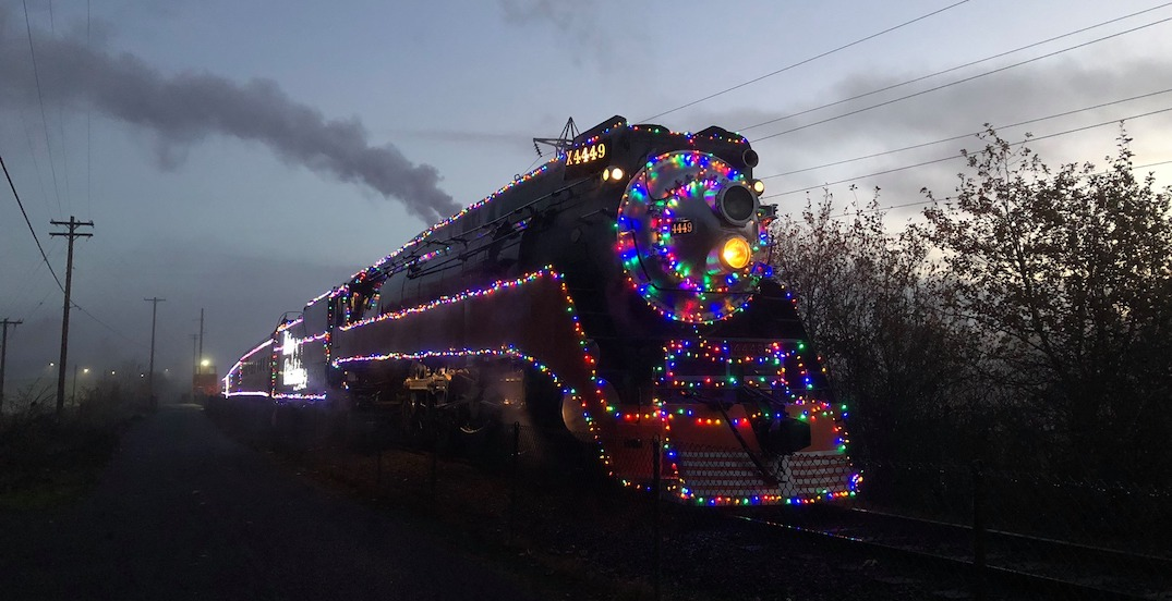 You can ride on a real life Polar Express in Portland this holiday season