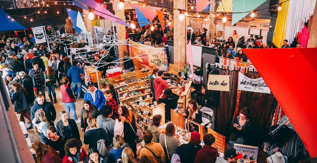 There's a massive holiday night market opening in Portland next week