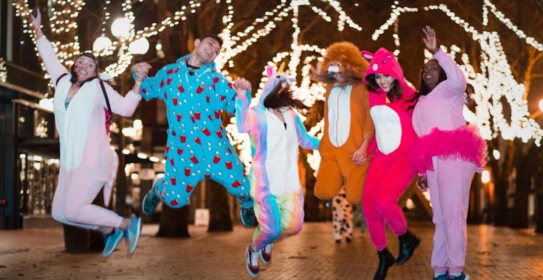 Don your best onesie for this Portland pub crawl next month