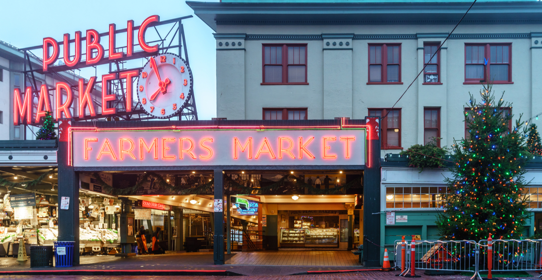 Pike Place Market will transform into a holiday wonderland this weekend