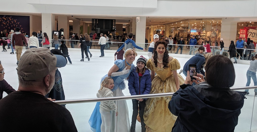 Ice-skate with your favourite Disney princess at Portland's Lloyd Center