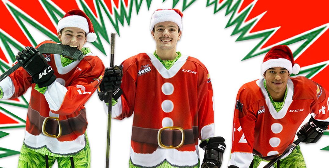 Vancouver Giants unveil outrageous Grinch-themed jerseys for Teddy Bear Toss