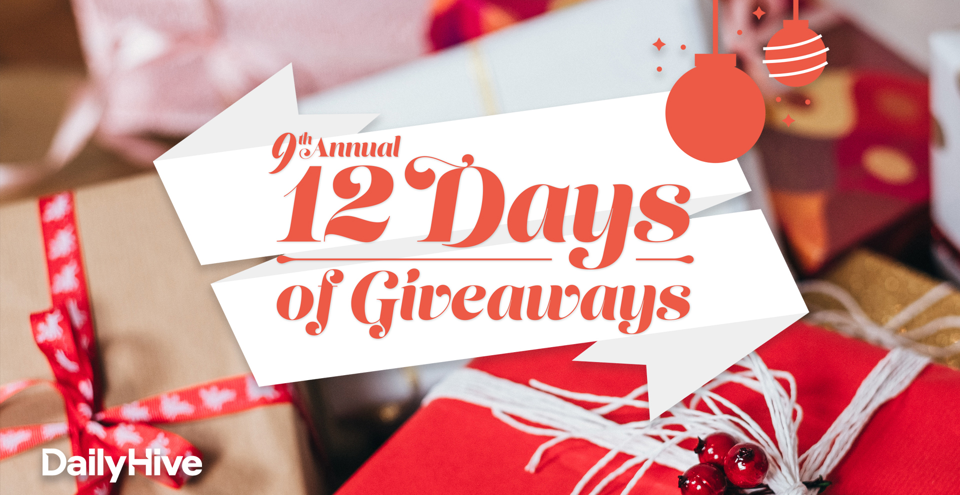 $70,000 in prizes up for grabs in our annual 12 Days of Giveaways