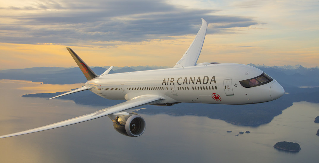 "Travel magazine names Air Canada as its ""Airline of the Year"""