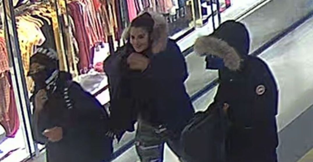 3 men and a woman wanted following 2 robberies at Scarborough Town Centre (PHOTOS)