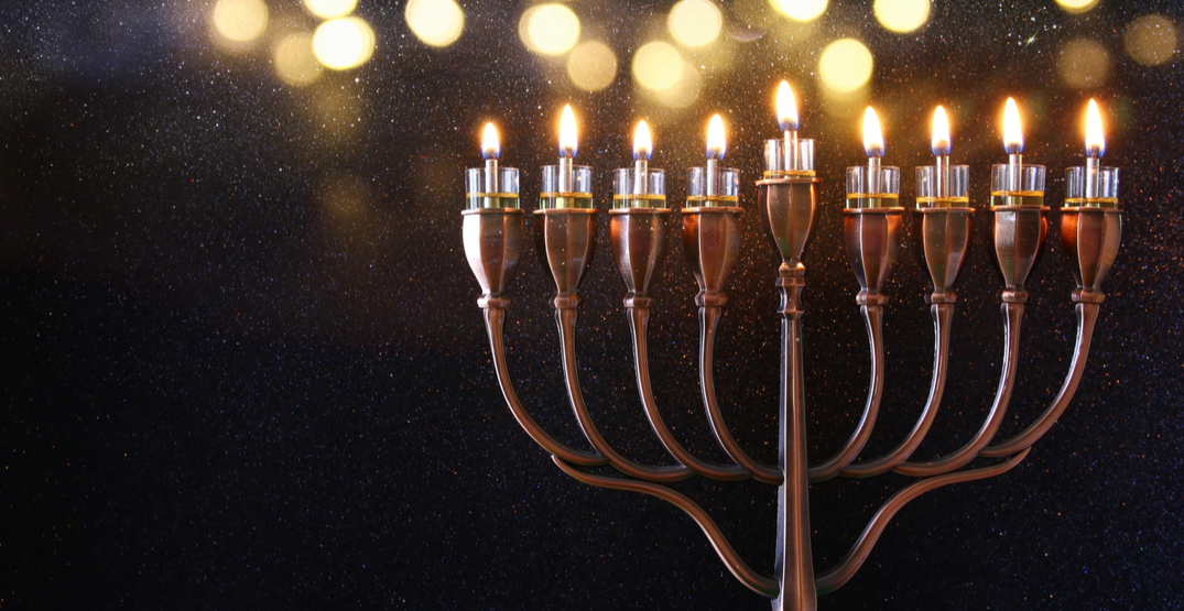 A Chanukah celebration and burger festival is taking place in Downtown Seattle this month