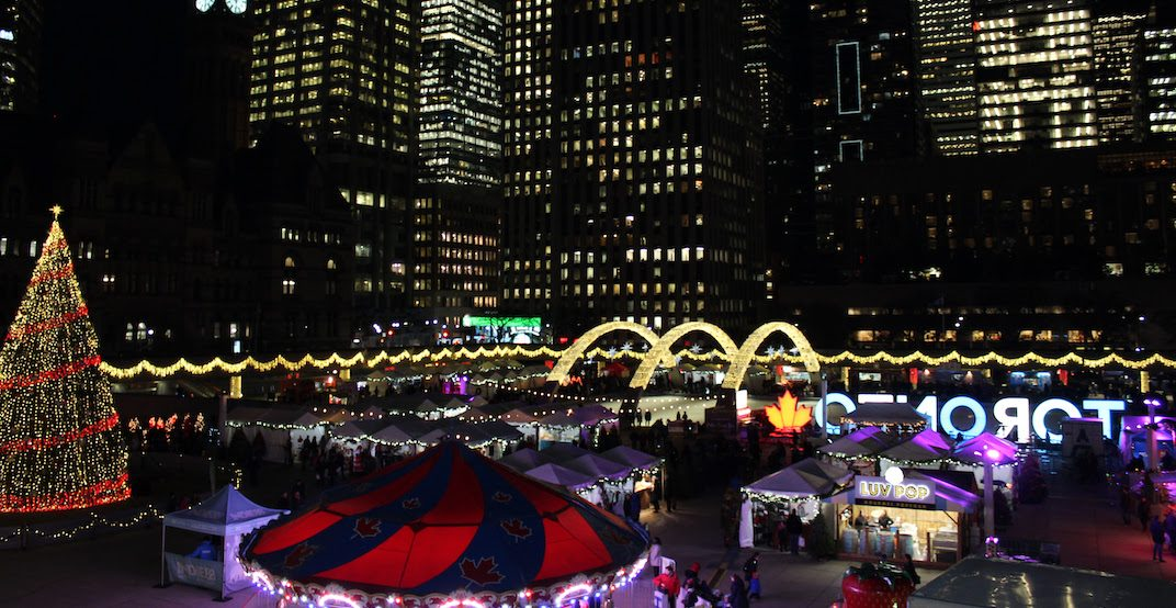 Toronto's annual Holiday Fair in the Square launches local virtual marketplace