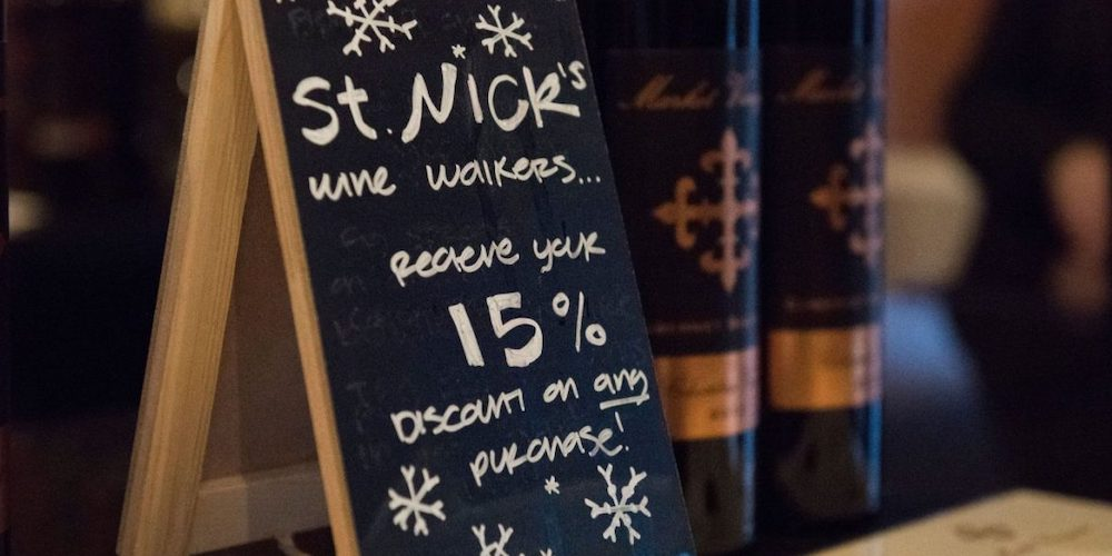 Treat yourself to a holiday wine tasting this weekend in Woodinville