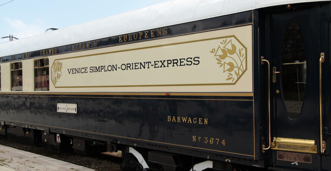 Travel back in time with this Gatsby-inspired 1920s train