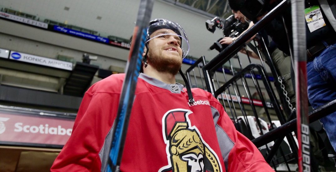 Vancouver thief clotheslined by crime-fighting Ottawa Senators player