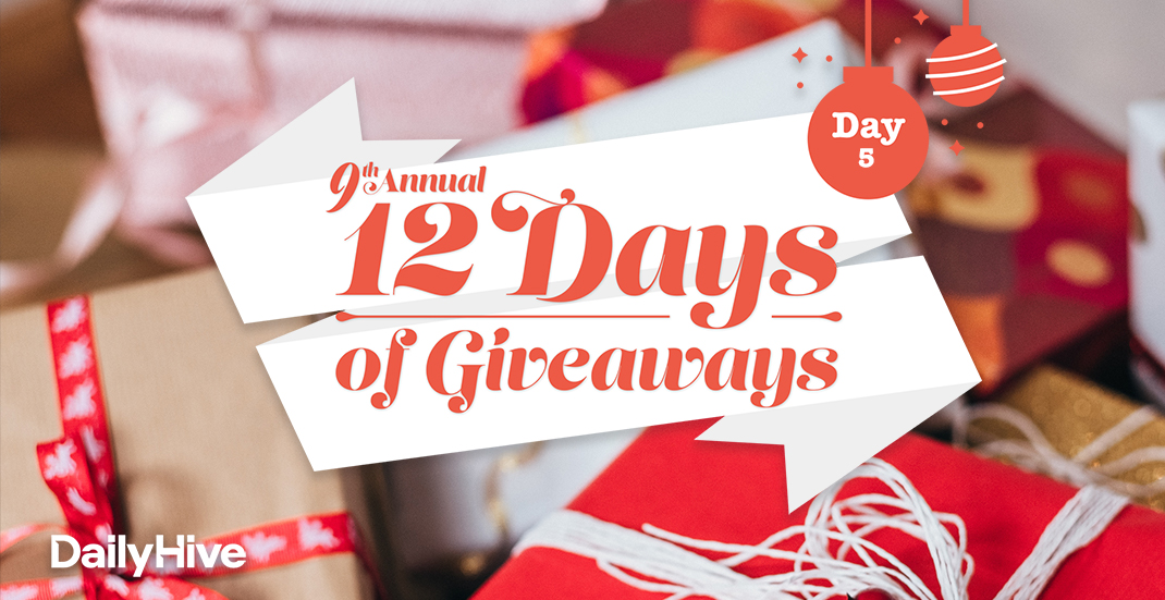 12 Days of Giveaways: A $300 White Spot gift card and cookbook
