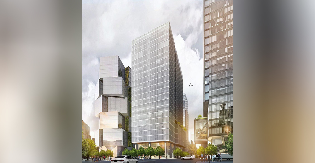 New office tower planned for corner of Georgia and Richards streets in downtown