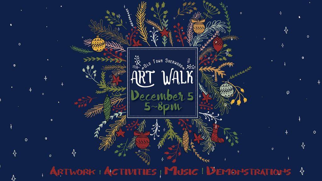 Old Town Sherwood Art Walk/Facebook
