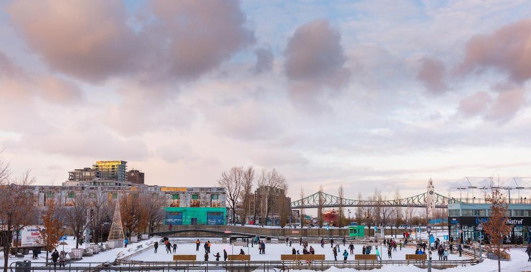 Old Port of Montreal announces details for this winter's outdoor activities
