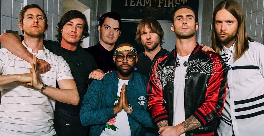 Maroon 5 is performing a concert in Edmonton next summer