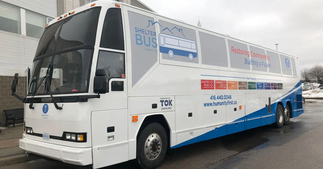 There's now a shelter bus rolling through the city to help those in need