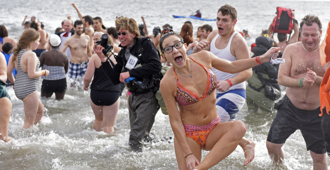 Kick off the new year with Seattle's official Polar Bear Plunge