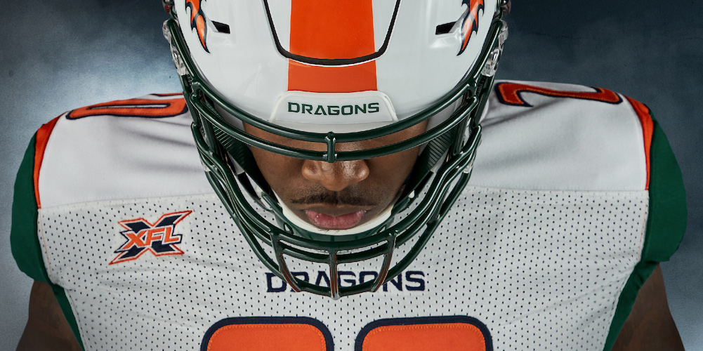 XFL's Seattle Dragons unveil flashy new uniforms (PHOTOS)