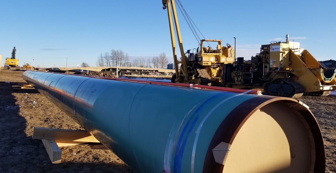Pipeline construction begins on Trans Mountain expansion
