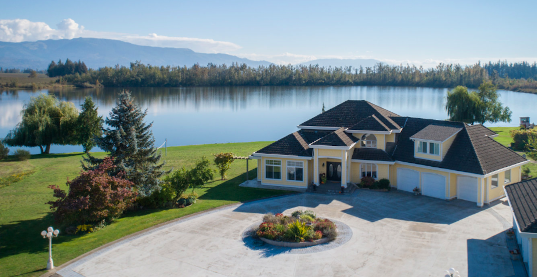 This $7.5M Lower Mainland property comes with its own lake (PHOTOS)