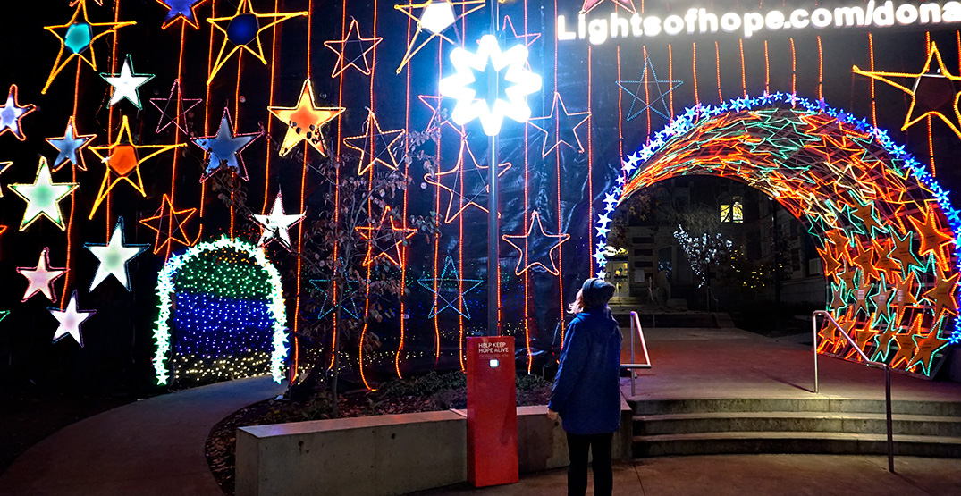 Lights of Hope's new interactive art piece needs you to keep it glowing